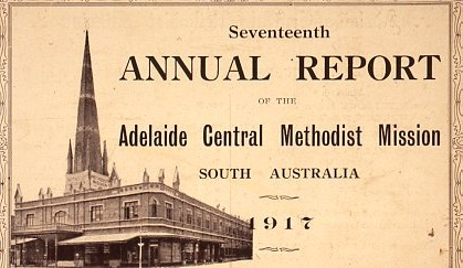 1917 - Annual Report Cover