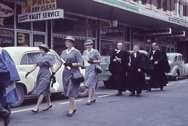 1962 - Service In Hindley St Commemorating First Service (2)