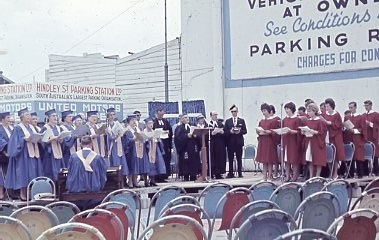 1962 - Service In Hindley St Commemorating First Service (5)