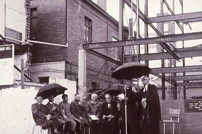 1962 - Service In Hindley St Commemorating First Service