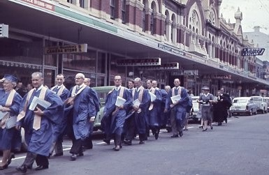 1962 - Service In Hindley St Commemorating First Service (11)