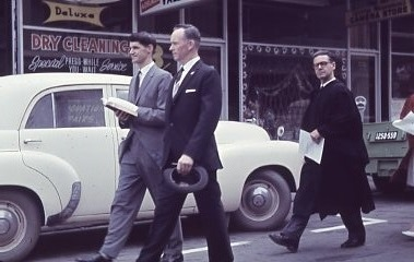 1962 - Service In Hindley St Commemorating First Service (17)