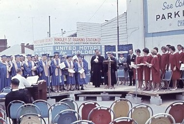 1962 - Service In Hindley St Commemorating First Service (22)